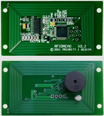 Low cost RFID Reader module and low cost RFID Reader Writer module